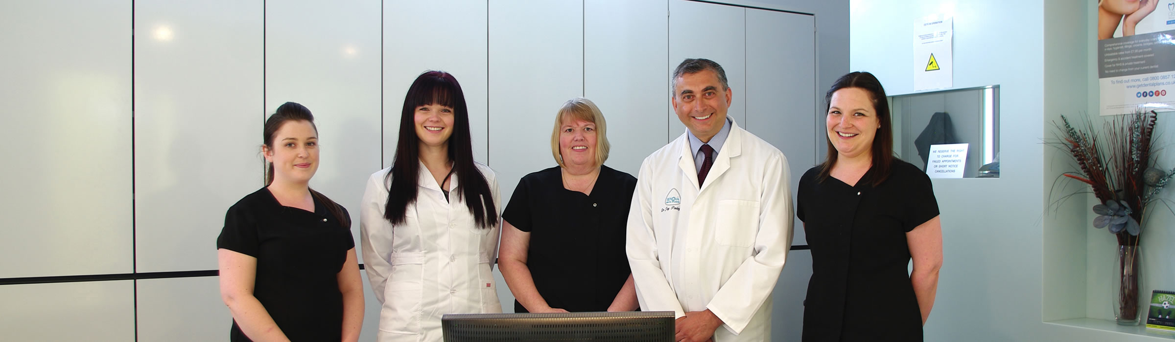 Senova Dental Studios Team in Watford