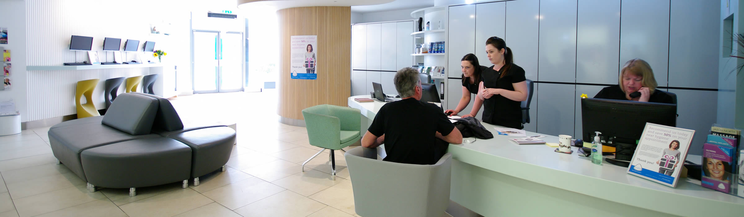 Senova Dental Studios Waiting Area