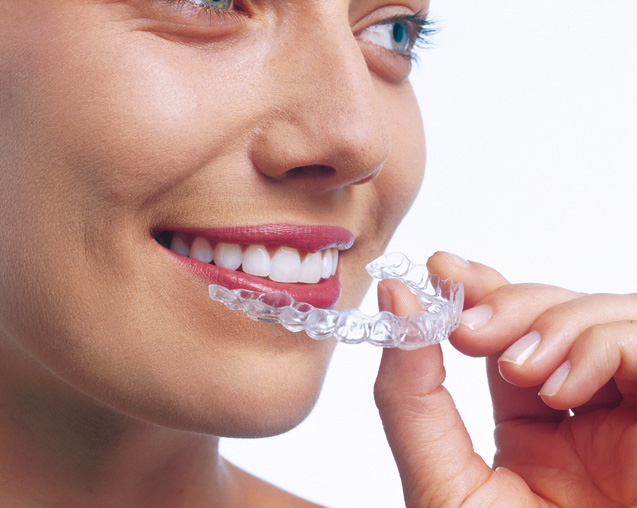 wearing Invisalign