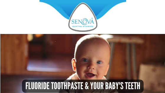 Fluoride toothpaste and baby teeth