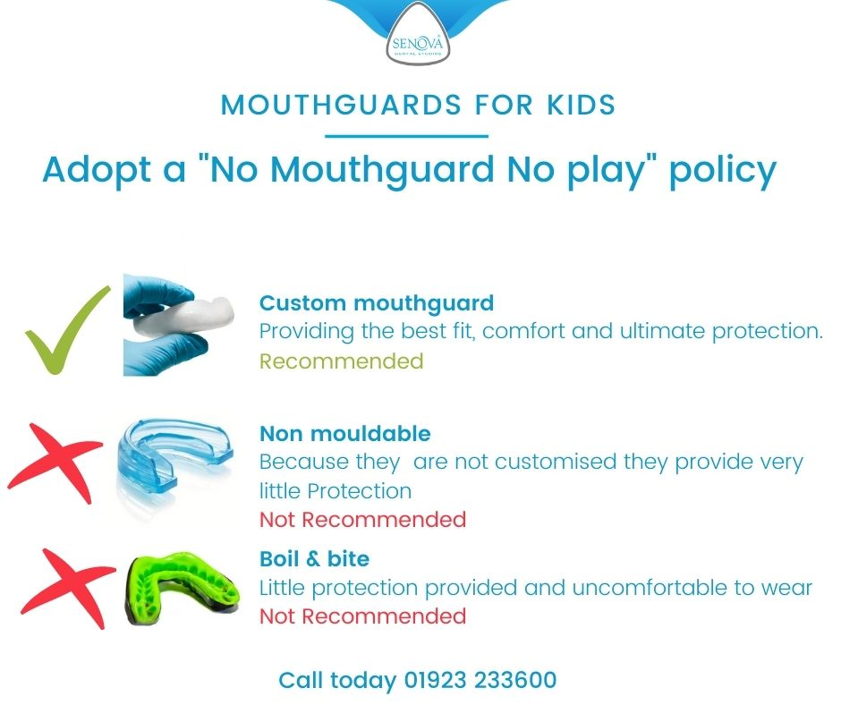 Children's mouthguards